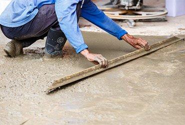 concrete installation application