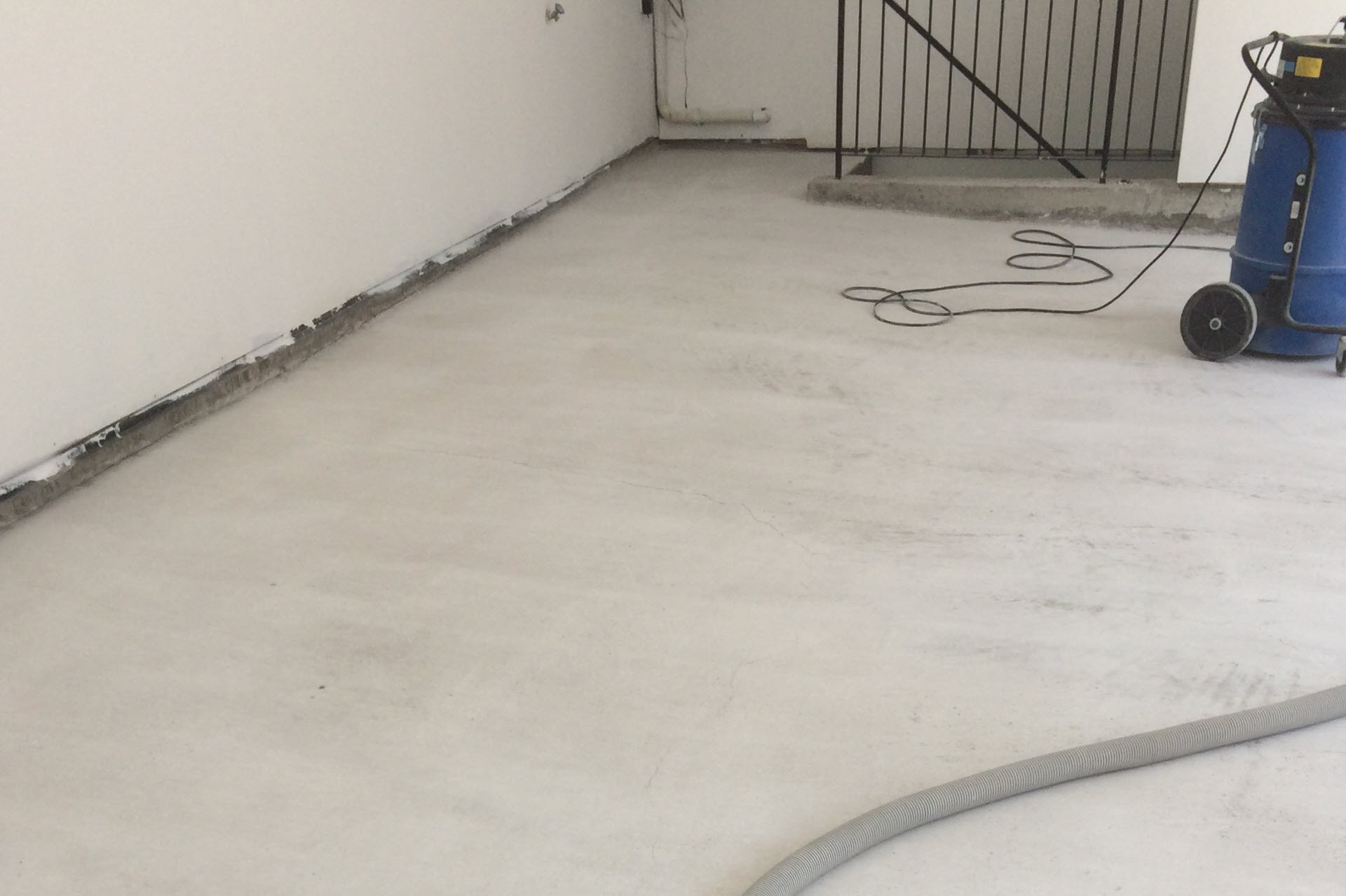 concrete polishing garage polished floor