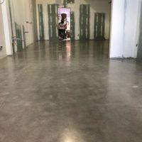 finished polished concrete