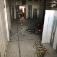 pre finished concrete floor