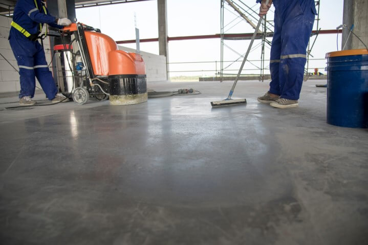 concrete floor polishing enhancements