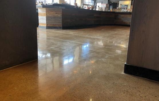concrete polish project