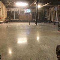 new polished floors
