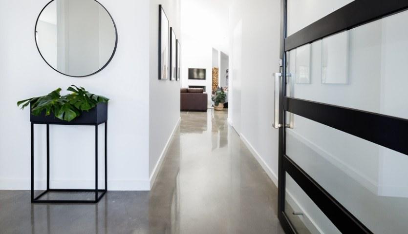 interior polished concrete floor Bradford
