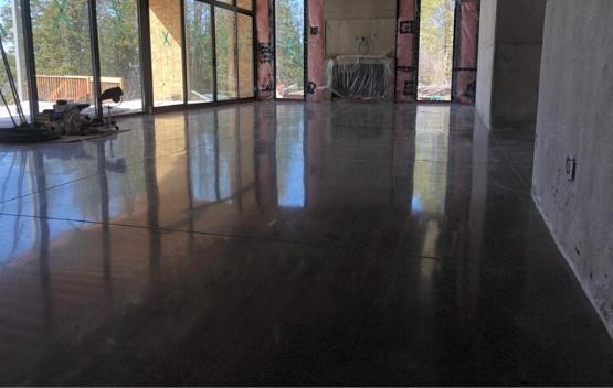 polished concrete floors Bradford